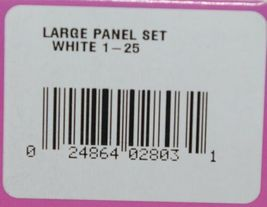 Destron Fearing DuFlex Visual ID Livestock Panel Tags LG White 25 Sets 1 to 25 image 7