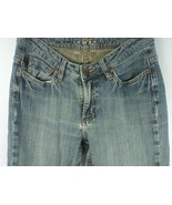 LEE RAIDERS COPPER Vintage Women's Distressed  Boot Cut Jeans slim Size 7/8 - $15.79