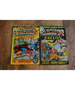 Captain America #152 153 Falcon Scorpion (Marvel Comics, 1972) Lot of 2 ... - $24.18