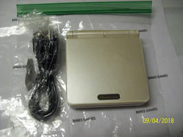 Nintendo GameBoy Advance SP Limited Edition Pearl White Handheld System - $73.84
