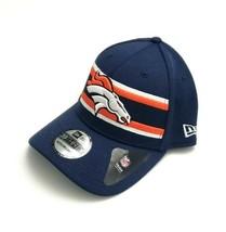 New Era Denver Broncos 39Thirty OF 2018 Super Bowl LIII Flex Fitted Hat ... - $31.68