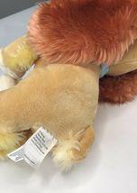 "Lady Tramp Plush Cocker Spaniel Puppy Dog Bean 12"" Stuffed Animal Disney Store image 6"