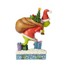 """Grinch Tip Toeing Jim Shore Grinch Collection Figurine 7.75"""" High image 2"""