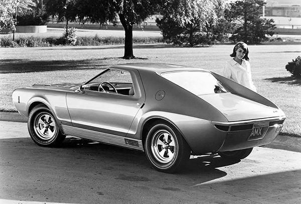 Primary image for 1965 AMC AMX I Concept Car #2 - Promotional Photo Poster