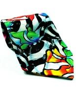 Colorful Clown Fish Sea Marine Life Salt Water 100% Cotton Novelty Tie - $24.75