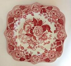 Spode dish British Flowers Poppy Pattern - $24.70