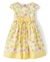 Gymboree Girls Spring Jubilee Yellow Floral Dress 2T 3T 4T 5T NWT - $15.99