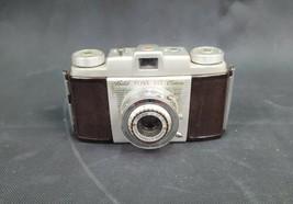 Vintage Kodak Pony 135 C Fotocamera Bakelite 44mm Lente W/ Pelle Campo E Cinghia - $26.23