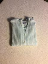 Ann Taylor LOFT Cardigan, Size Medium, Mint Green, Button Up - $14.99