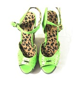 Jessica Simpson Womens Green Wedges 8.5 - $29.69