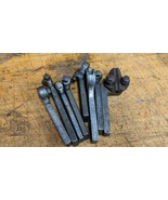 9 ASSORTED METAL LATHE LANTERN TOOL POST BIT HOLDERS ARMSTRONG JH WILLIA... - $162.36