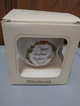 Alderbrook Ornament Merry Christmas Niagra Falls Canada 1985 - $9.90