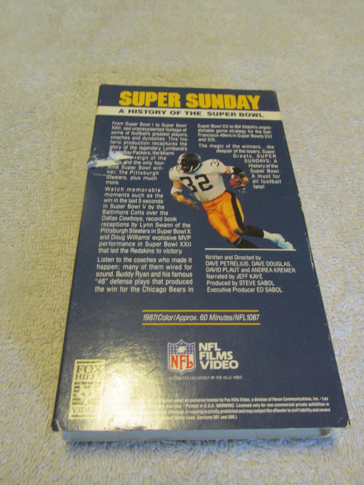 Super Sunday VHS