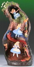 WDCC Alice and Dinah Down The Rabbit Hole figure Ornament World limited 500 - $4,707.45