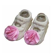 [C]Beige Color Creative Design Anti-slip Socks Cute Socks,2 Pairs