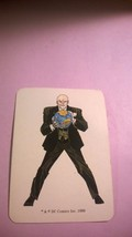 LEX LUTHOR 1989 DC Comics Role Play Game Card - $15.00