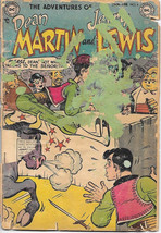 The Adventures of Dean Martin and Jerry Lewis Comic Book #4 DC 1953 FAIR... - $30.88