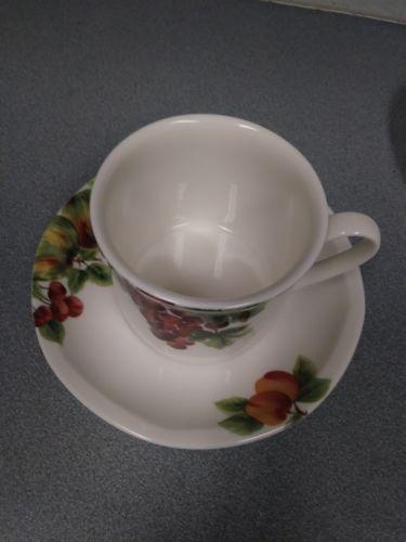 ... 1994 Royal Doulton Everyday China VINTAGE GRAPE Coffee Tea Cup u0026 Saucer Set & 1994 Royal Doulton Everyday China VINTAGE and 50 similar items