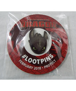 Loot Crate Exclusiv LootPin Feb 2018 Protect How To Train Your Dragon To... - $9.89