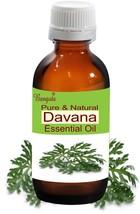 Davana Pure Natural Undiluted Essential Oil 15ml Artemisia pallens by Bangota - $54.69