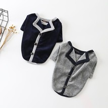 Casual Cat Pet Clothes Autumn Puppy Outfit Cotton Pets Dogs Clothing For... - $596,21 MXN