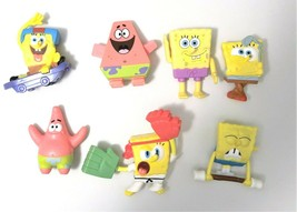 Spongebob Happy Meal Toys Lot of 7 With Patrick Star - $4.94
