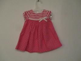 Gymboree Size 3-6 Months Girl's 100% Cotton Pink Polka Dot Sleeveless Dress - $20.00