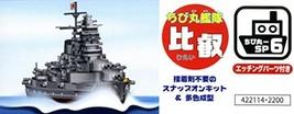 Fujimi model Chibi Chibi round fleet ratio Hiei Deluxe model etched parts color  - $42.00