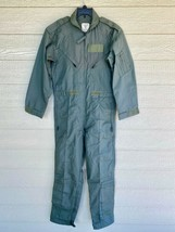 New 1989 Us Air Force Usaf Nomex Fire Resistant Flight Suit Green CWU-27/P - 40R - $123.75