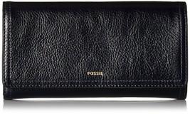 Fossil SL7833 - Logan RFID Flap Clutch - Midnight 406 - $39.60