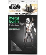 Star Wars The Mandalorian TV Series Figure Metal Earth Laser Cut Model K... - $30.95