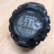 Nice Armitron 40/8209 Men Black LCD Digital Alarm Chrono Watch Hours~New... - $17.62