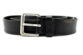 Lauren by Ralph Lauren Vintage Mens Leather Belt Black Size 42 - $38.24