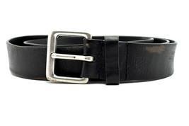 Lauren by Ralph Lauren Vintage Mens Leather Belt Black Size 42 - $38.24