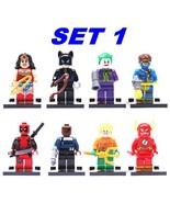 8pcs/lot legoINGlys Marvel Avengers Super Heroes Starwars Building Blocks  - $16.45