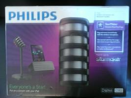 NIB Philips StarMaker Portable Wireless Bluetooth Speaker Karaoke Microp... - $64.86 CAD