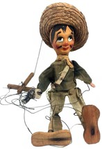 Mexican Marionette String Puppet with Pistol - $18.99