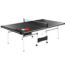 Official Size Outdoor/Indoor Tennis Ping Pong Table 2 Paddles and Balls ... - $176.39