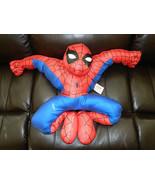 Marvel Comics Spider-Man Figure Large Pillow Toy 2002, NEW UNUSED Seam S... - $11.60
