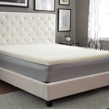 Eight24hours Highloft Supreme 4-inch Memory Foam Mattress Topper - Cal King - $255.20