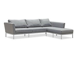 "Whiteline Ursula Outdoor Sectional SR1573 (L110"" W34"" H28"") - £2,774.46 GBP"