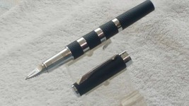 Parker 5TH Technology Ingenuity Black Rubber and Metal Pen NOS - $118.80