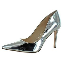 Jessica Simpson Womens cassani Pointed Toe Classic, Platinum Lame, Size 8.0 - $80.40