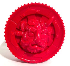 Red Demon Wheel Yokai Unpainted image 1