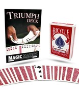 The Amazing Triumph Deck Magic Trick With Onlin... - $21.95