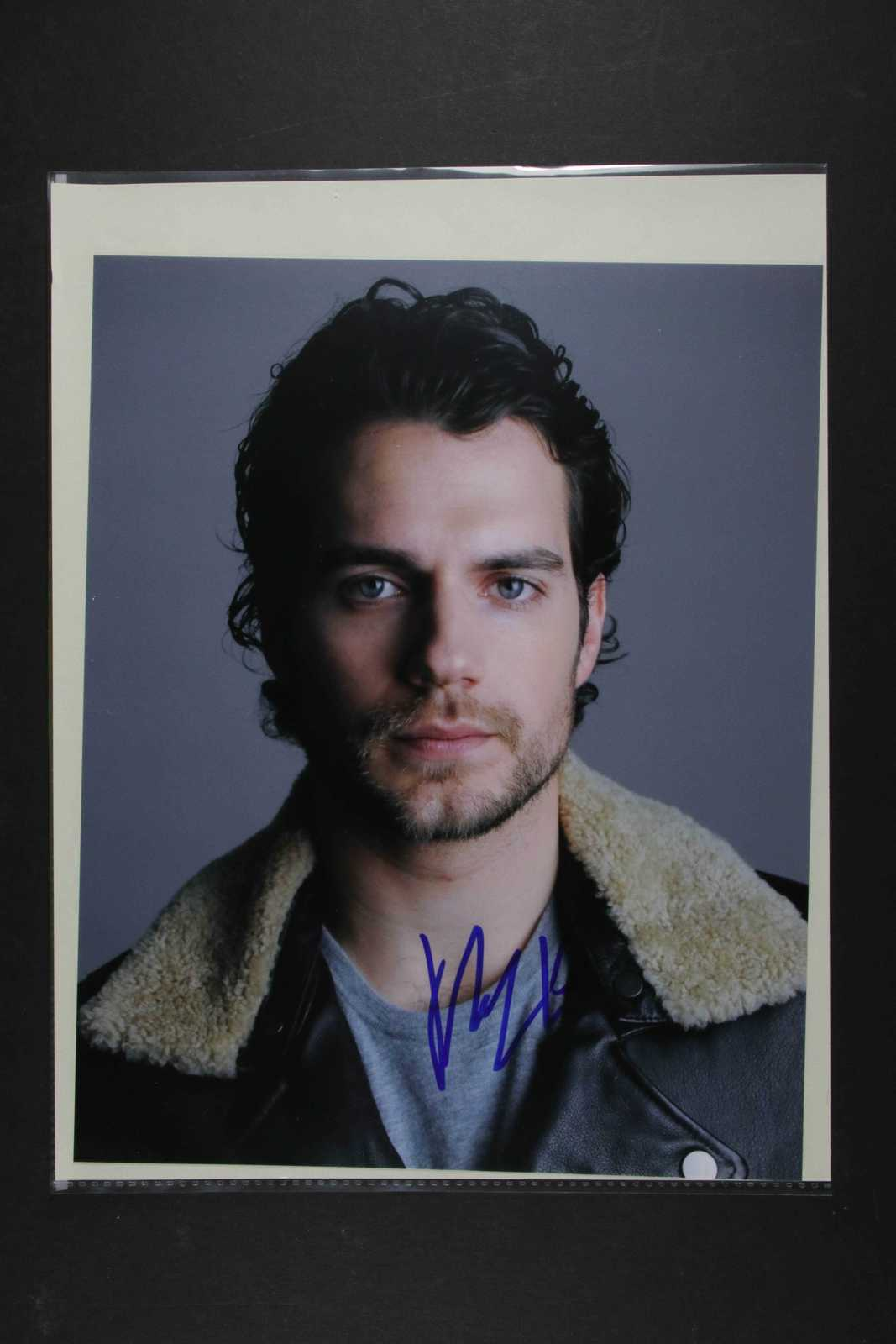 Primary image for Henry Cavill Signed Autographed Glossy 8x10 Photo