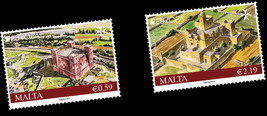 Presentation Pack EUROPA 2017 - Castles Malta Historical Stamp New Issue - $8.30