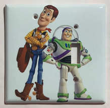 Toy Story Woody Buzz Lightyear Light Switch Outlet wall Cover Plate Home Decor image 5