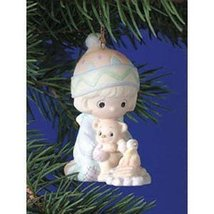 "Precious Moments ""Your Love Keeps Me Toasty Warm"" 2000 Porcelain Ornament - $25.74"
