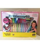 Creativity for Kids Hair and Accessory Arts Craft Kit Headbands Bows Bra... - $9.99